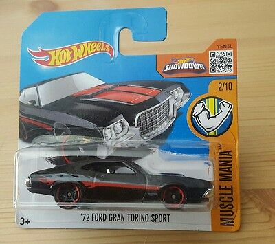 hot wheels 2016 69 ford torino talladega hw speed. Black Bedroom Furniture Sets. Home Design Ideas