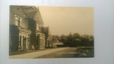 Mickleover Pair of Manor School Postcards including Cricket match