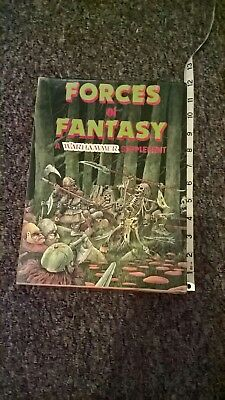 Warhammer supplement Forces of fantasy role playing boxed 1984 1st edition