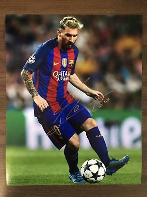 Lionel Messi Original Signed Autograph Photo 8x10 COA *Soccer, Barcelona*
