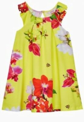 BNWT Ted Baker Floral Dress For Baby Girl 18-24 months