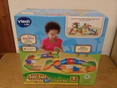 V Tech toot toot animals track set 1-5 years