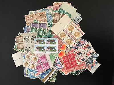 Mint  Block of 4 Postage  LOOK!          FACE VALUE $79.93