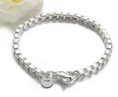 New Style ewelry Solid 925 Silver Ladys Mens Bracelet / Bangle