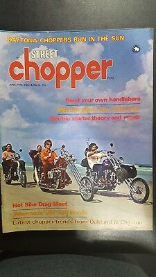 Street Chopper Magazine June 1972 Motorcycle Vintage