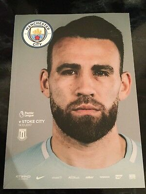 Man City v Stoke City Official Programme 14.10.2017 **MINT CONDITION**
