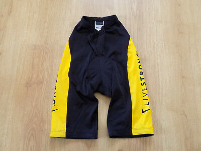 Nike Livestrong Men Shorts Cycling Bicycles Lance Armstrong Foundation Size M