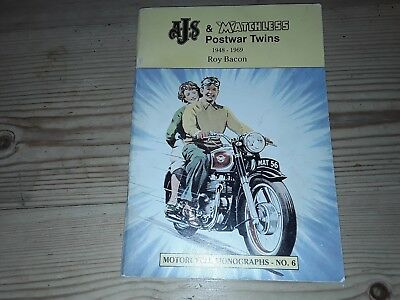 AJS and MATCHLESS post war twins by Roy Bacon