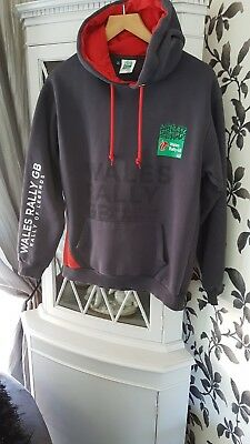 Mens Wales Rally GB Hoody Size S Small