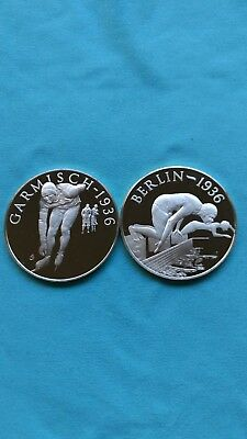 Sterling Silver Franklin Mint Coins(2)
