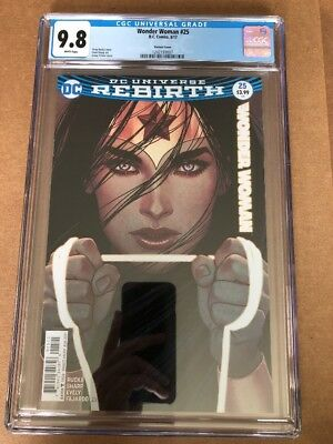 WONDER WOMAN #25 (2017) CGC 9.8 1st Print Jenny Frison Variant Cover