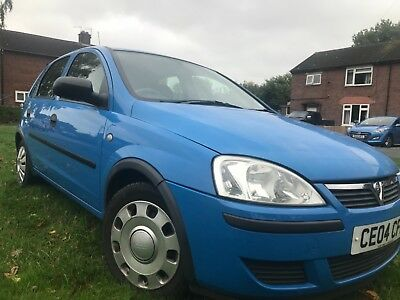 04 Vauxhall Corsa Life 1.2 16V 5 Door Low Miles 78K Clean Car No Reserve