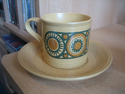 Vintage Kiln Craft Bacchus Cup And Saucer...
