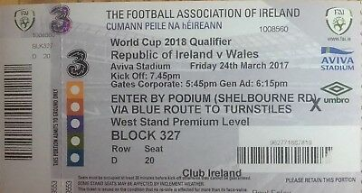 Ireland v Wales 24/3/2017 FIFA 2018 World Cup Qualifier