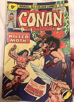 conan the barbarian #61 Bronze Age Marvel Pence Copy