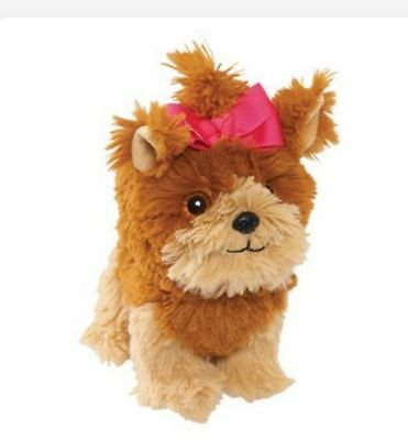 🎀JOJO SIWA SOFT PLUSH BOW BOW DOG WITH PINK BOW UK Seller Ready to Post 🎀