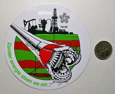 1 Oilfield Hard Hat Sticker / Nam ???