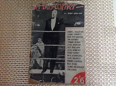 boxing book by Terry Leigh-Lye 1946 rare.