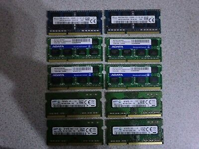 MIXED LOT 10 x 4GB DDR3 RAM