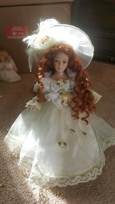 victorian porcelain doll  collectible