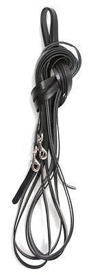 Leather long reins for lunging, work in-hand and long reining