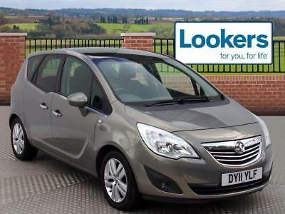 2011 Vauxhall Meriva 1.4i 16V SE 5dr Petrol brown Manual