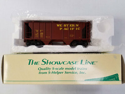 """S-Scale S-Helper """"Showcase Line"""" Western Pacific PS-2 Covered HOpper"""