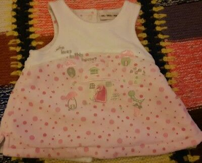 Baby Girl Dress 0-3 Months ~ Warm Padded