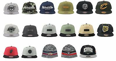 Mitchell & Ness Baseball Snapback Cap Beanie Hat Black Grey Camo Green Blue Red