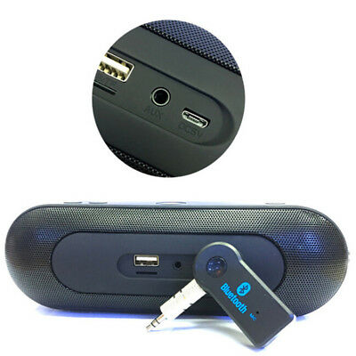 Wireless USB Mini Bluetooth Aux Stereo Audio Music Car Adapter Receiver 3.5mm FT