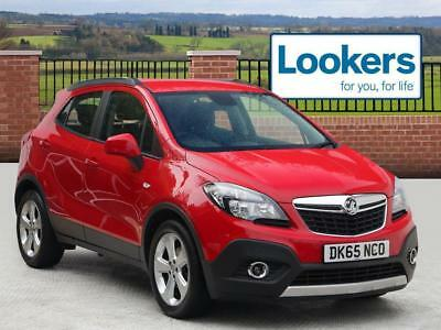 2015 Vauxhall Mokka 1.6i Exclusiv 5dr Petrol red Manual
