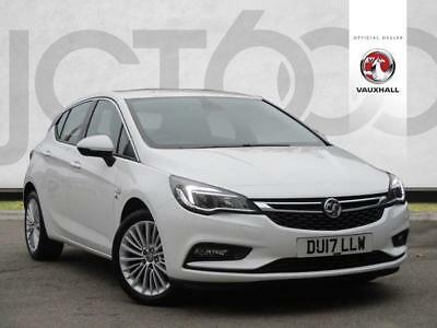 2017 Vauxhall Astra 1.4T 16V 150 Elite Nav 5dr Petrol white Manual