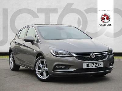 2017 Vauxhall Astra 1.4T 16V 150 SRi Nav 5dr Petrol grey Manual