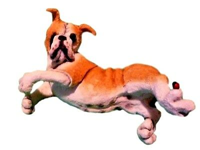 BULLDOG WITH A LADY BUG A Breed Apart by Country Artist 00112 NEW FREE SHIPPING