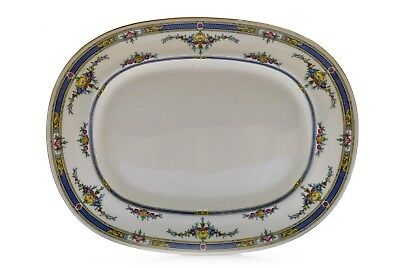 Minton's Princess K109 Yellow Flower England Oval Serving Platter 15""