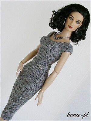 """bena-pl Clothes for Tonner Tyler 16"""" & Nu Mood fashion body dolls 16 OOAK outfit"""