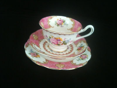 Royal Albert Lady Carlyle Bone china Trio
