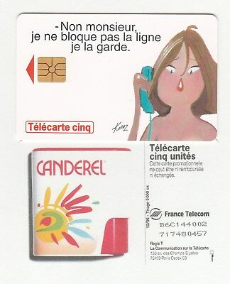 PH/TC >>  France   PP  5U  Gem   ''  CANDEREL  ''   TBE