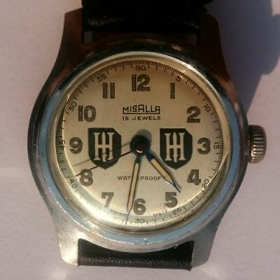 WW2 German 9th panzer tank division military watch