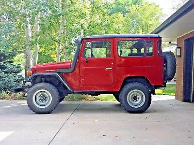 1980 Toyota Land Cruiser  All original 1982 Toyota Land Cruiser BJ40/FJ40 (diesel). CLEAR CO TITLE IN HAND