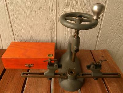 Bergeon Clock Bushing Tool and Bergeon Cutting Bits Accessory Box + More