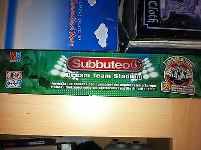 Subbuteo Dream Team Stadium, Completa Di Squadre  Campo e tutto