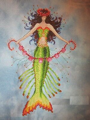 Mermaid Coral Charms - Cross Stitch Chart - Free Postage