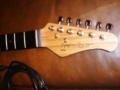 Fretlight 500 Series LOADED Guitar 21,Fret NECK Built-in LED Lights+Cables,Clean