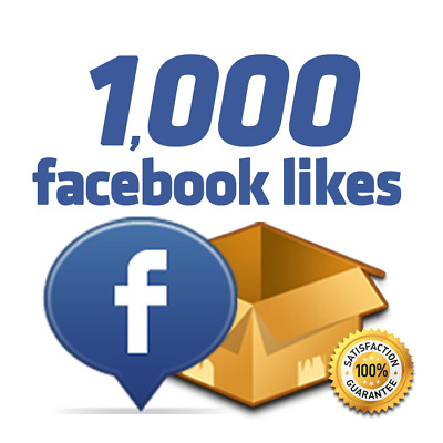 1000 Facebook/Likes for page/post or 1000/followers