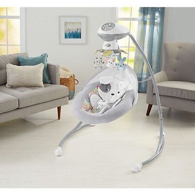 New Fisher-Price Sweet Snugapuppy Dreams Cradle 'n Swing Free Shipping