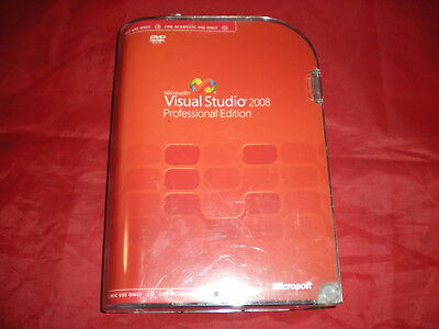 Microsoft SQL Server 2005 ONLY MISSING Visual Studio Professional 2008 ASIS READ
