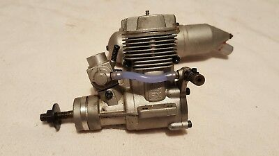 OS Max 46 FX Rc Airplane Engine with Muffler Excellent Condition .46fx