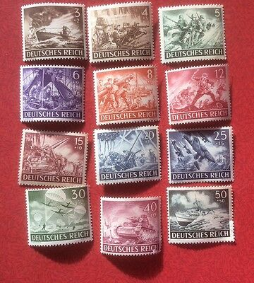 1943 Set of German Empire Military Forces Set MINT unhinged