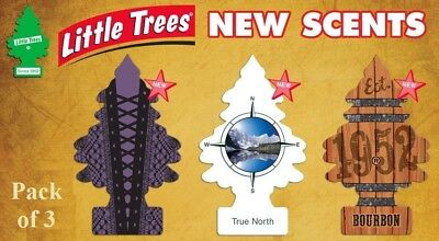 3 Pack Little Trees Air Freshener. 3 NEW different Fragrances. Choose Your Scent